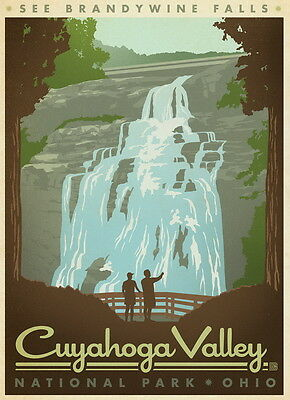 """Cuyahoga Valley Poster Travel Photo Fridge Magnet 2""""x 3"""" Collectibles"""
