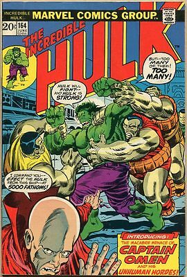 Incredible Hulk #164 - VG
