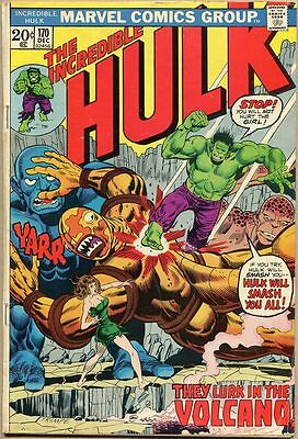 Incredible Hulk #170 - G+
