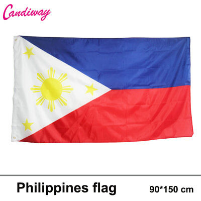 Republic of the Philippines flag Hanging National flag Filipino's flag Manila