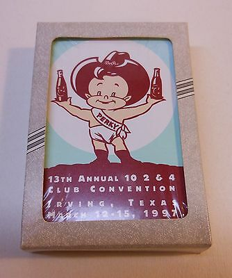 Vintage Dr Pepper 1997 Sealed Deck of Playing Caerds