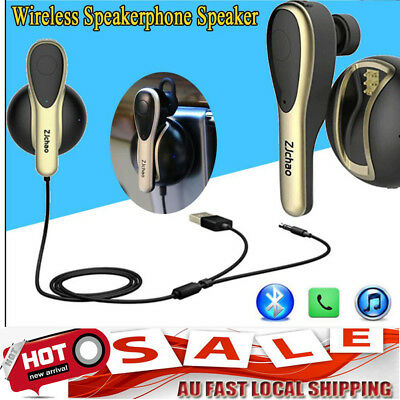 Bluetooth 4.1 Handsfree Car Kit Wireless Speakerphone Speaker for Mobile Phone P
