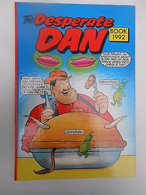 ** THE DESPERATE DAN BOOK 1992 ** Annual - UNCLIPPED V/G Condition from DANDY