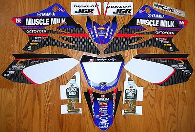 Nstyle Team Jgr Racing Yamaha Ttr 50 Graphics Decals Kit Ttr50 (06-16)