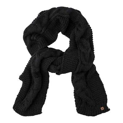 Element Feather Top Scarf One Size Black