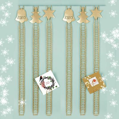 90cm 50 Card Over Door Card Holder Xmas Christmas Hanging Wire Home Display