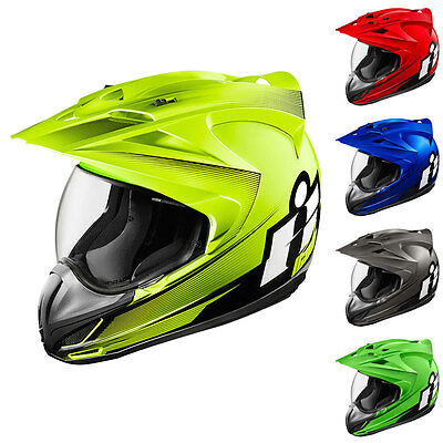 Icon Variant Double Stack Full Face Dual Purpose Motorcycle Adventure Helmets