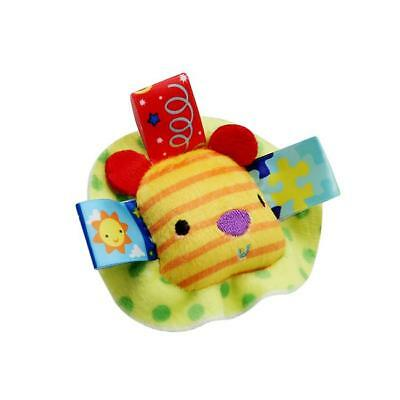 New Baby Wrist Bands Rattle SOUNDS Rattling Sensory Toy Infant Child CB