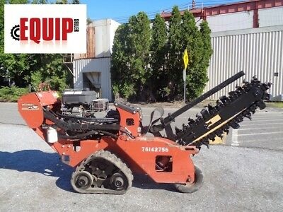 2011 Ditch Witch RT12 Trencher - 477 Hours