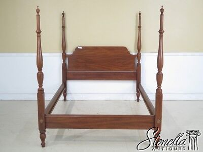 41247:  HENKEL HARRIS Full Size Walnut Fairfax Poster Bed