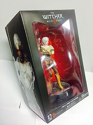 "THE WITCHER 3 WILD HUNT CIRI 8"" inch STATUE FIGURE DARK HORSE 20cm PVC"
