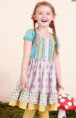 NWT Matilda Jane Quite Right Dress Once Upon A Time NEW Girls sz 2 8 10 TWEEN