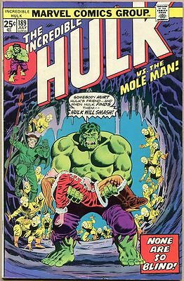Incredible Hulk #189 - VG/FN