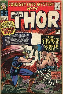 Journey Into Mystery #114 - G+ - 1st Appearance Of The Absorbing Man