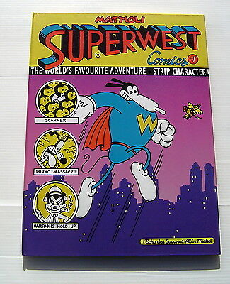 Superwest . Comics . Mattioli Bd Eo