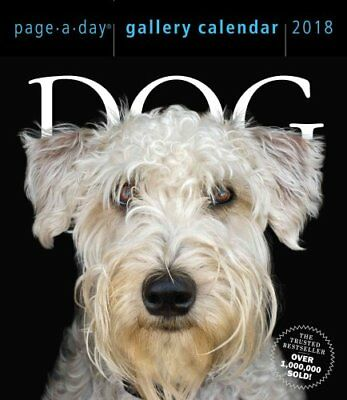 Dog Page-A-Day Gallery Calendar 2018 by Workman Publishing 9781523500451