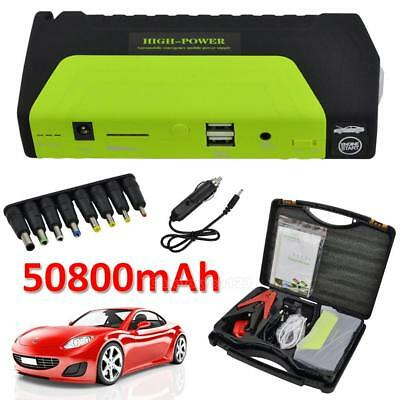 12V 50800mAh voiture Jump Starter Pack Booster chargeur batterie Power Bank