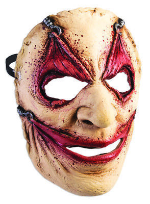 Frontal Mask Piercing Adult Costume Accessory Halloween Party One Size