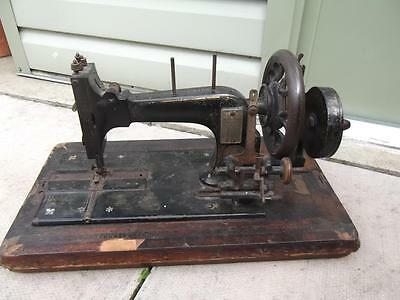 Antique Frister & Rossman Hand-Crank Sewing Machine