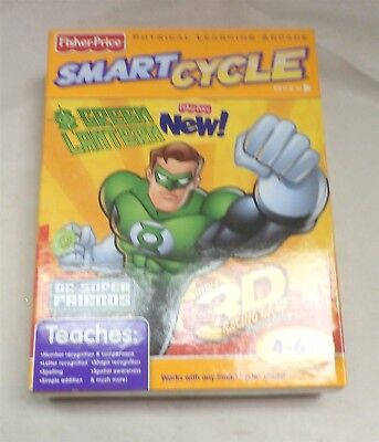 Superfriends Green Lantern W0437 Fisher Price SmartCycle 3D Software