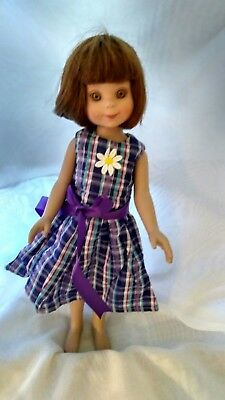 Purple Plaid Dress  for Betsy by MGT Designs