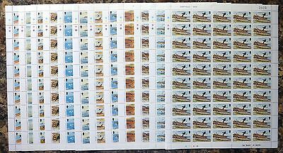 GB Isle of MAN 1983 Sea Birds 1p to 18p Face Value £65.50 SEE BELOW NB2765