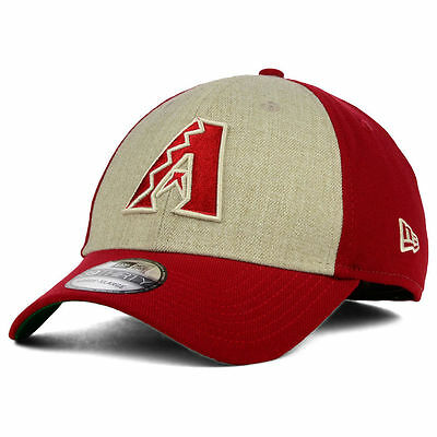 c5997ddf97c Arizona Diamondbacks New Era MLB Classic Front 39THIRTY Baseball Cap Hat  Dbacks
