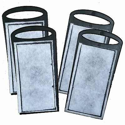 4 x Replacement Filter Cartridges for 480l/h Hang On Aquarium Fish Tank Filter