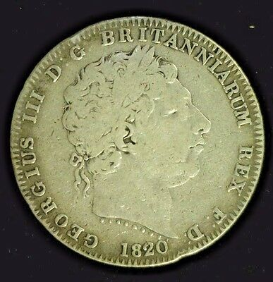 1820 Great Britain Silver Crown      (3953)