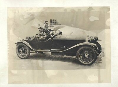 1931 Alfa Romeo 8C2300 Race Car ORIGINAL Factory Photograph wy2227