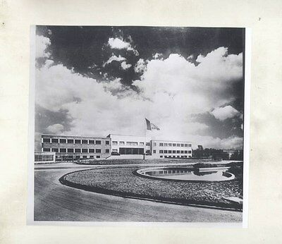 1960 Alfa Romeo Pomigliono D'Arco Factory Building ORIGINAL Factory Photo wy2265
