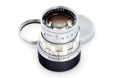 Leica Summicron rigid 2/50mm chrome // 29758,1