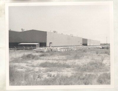 1971 Borgward Mexico Factory Plant in Monterey ORIGINAL Photograph wy2930