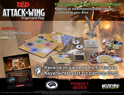D&D Attack Wing Tyranny of Dragons Month 1 OP kit