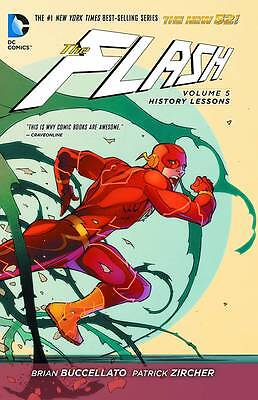 Flash New 52 Volume 5: History Lessons Softcover Graphic Novel