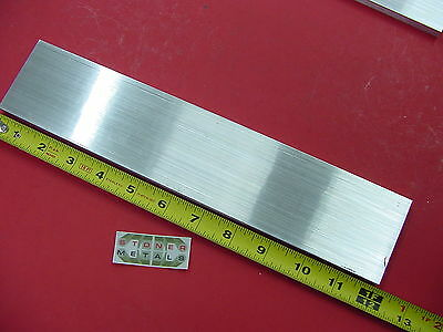 "3/8"" x 2-1/2"" ALUMINUM 6061 FLAT BAR 12"" long T651 .375 Plate Mill Stock"