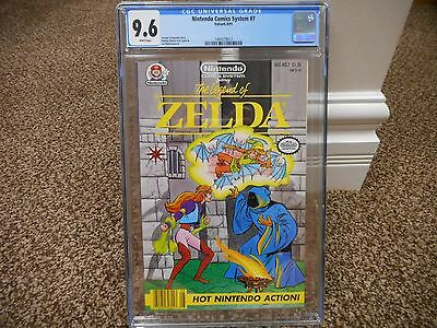 Legend of Zelda Nintendo Comics System 7 cgc 9.6 Valiant 1991 NM MINT RARE WHITE