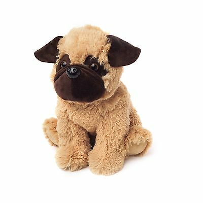 Intelex Cozy Plush Pug Microwavable Heatable Bed Time Warmer Animal Soft Toy