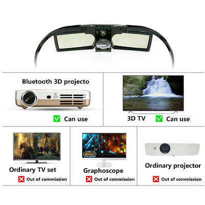 G15-BT Bluetooth 3D Active Shutter Stereoscopic Glasses For TV Projector