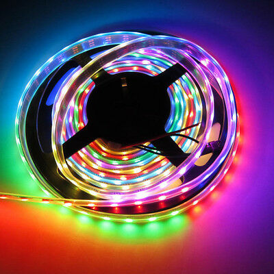 5M 150/300LED WS2812B 5050SMD Strip Light 5V/12V Addressable Strip Light WKS