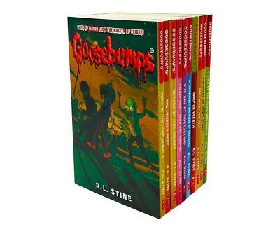 Classic Goosebumps 10 Books Set Collection Children - R L STINE Series 2