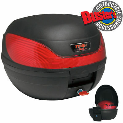 Motorcycle Top Box Luggage Universal 32 Litre Scooter Quick Detachable Case 32L
