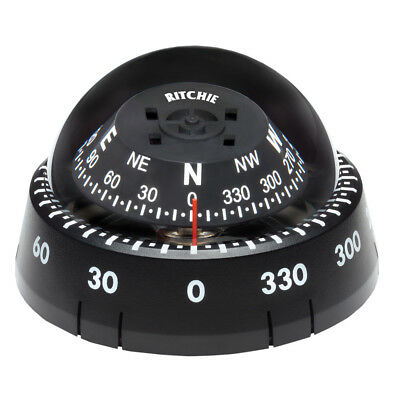 Ritchie Compass Xp-99 Ritchie Kayaker Surface Mount Compass Black