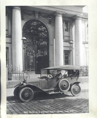 1919 Citroen Type A ORIGINAL Factory Photograph wy3080