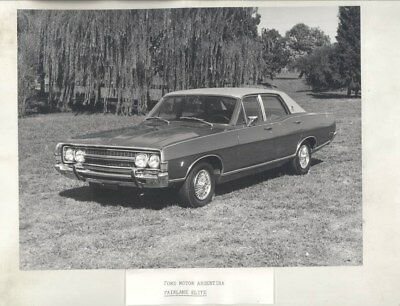 1981 Ford Argentina Fairlane Elite ORIGINAL Factory Photograph wy3092