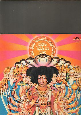 THE JIMI HENDRIX EXPERIENCE - axis bold as love LP