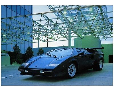 1979 Lamborghini Countach S Factory Photo ca8442