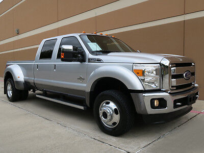 2011 Ford F-450 LARIAT ULTIMATE CREW CAB DRW LONG BED 6.7L 4WD 2011 FORD F-450 SD LARIAT ULTIMATE CREW CAB DUALLY 6.7L DIESEL 4WD NAV CAM ROOF