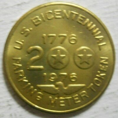 Bicentennial Sample parking token - PTSA3010A