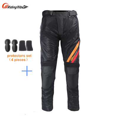 Motorcycle Pants mesh Motorbike Riding Trousers with EVA protectors sets Racing